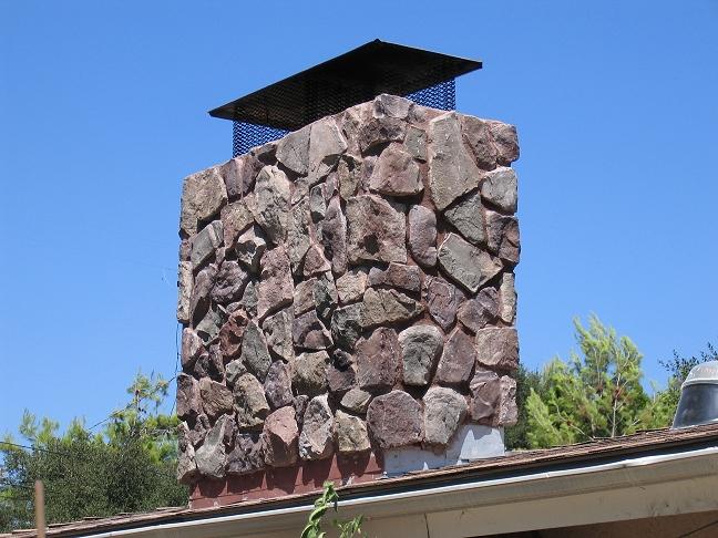 San diego chimney gallery custom masonry and fireplace for Stone chimneys