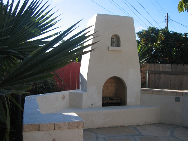 San diego testimonials custom masonry and fireplace for Spanish outdoor fireplace