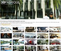 3DFABRIQUE - Architectural rendering services for architects, interior designers,