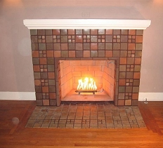 Tile Face Tiled Fireplaces