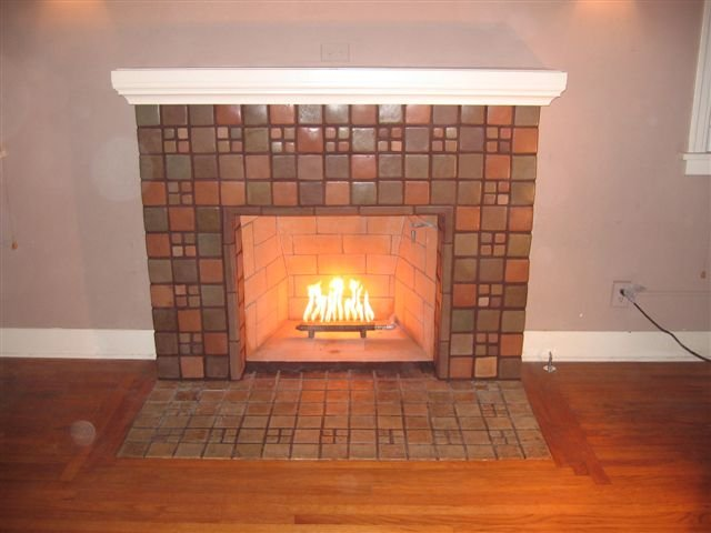 San Diego Batchelder Tile Fireplace Photos Custom Masonry And Fireplace Design Of San Diego