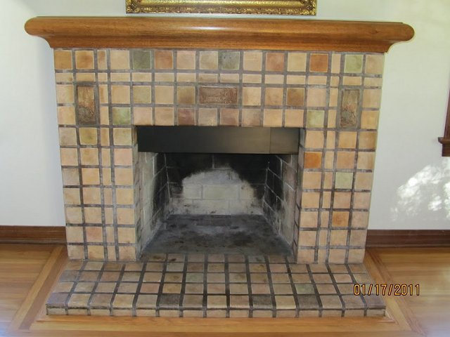 San Diego Batchelder Tile Fireplace Photos Custom
