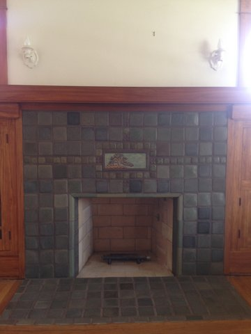 San Diego Batchelder Tile Fireplace Photos - Custom ...