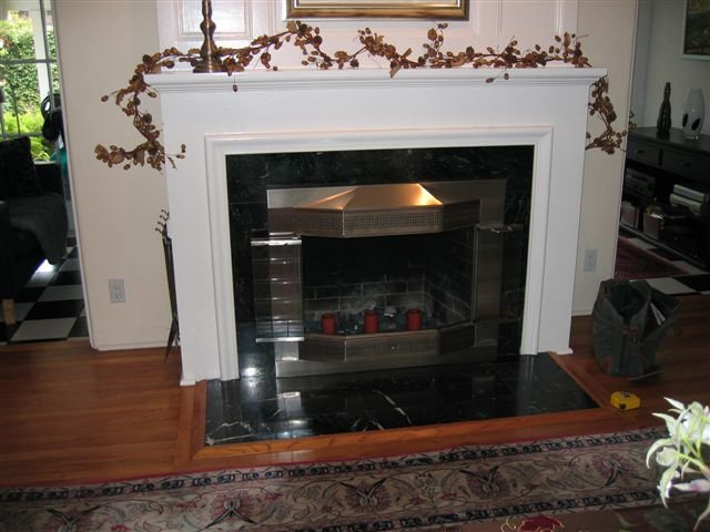 San Diego marble and granite fireplace photos - Custom Masonry and Fireplace Design serving San Diego County. Fireplace and Chimney construction and repair in San Diego.