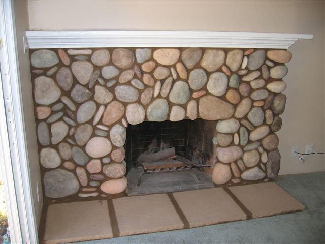 Stone Fireplaces Photos in San Diego Custom Masonry and