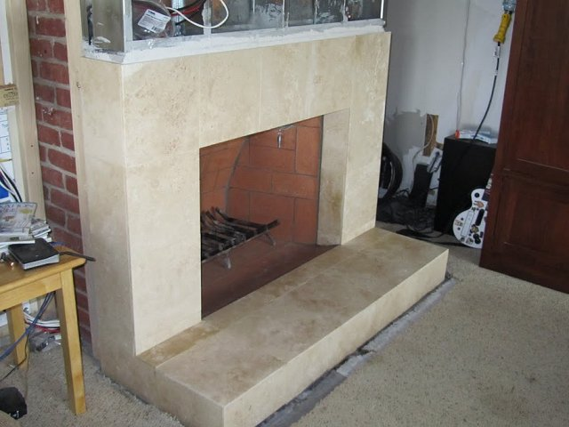 Tile Fireplace Photos From San Diego Page 3 Custom
