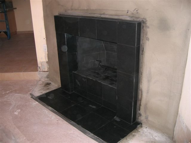San Diego Tile Fireplace Photos Custom Masonry And