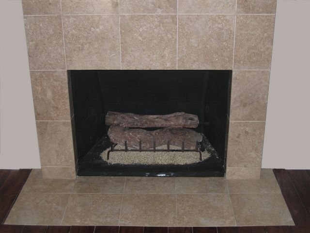 Tile Fireplace 34